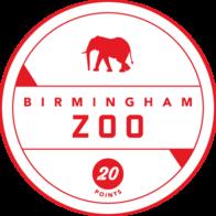 Birmingham Zoo badge