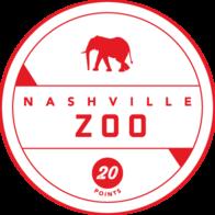 Nashville Zoo badge