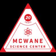 McWane Science Center badge