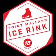 Point Mallard Ice Rink badge