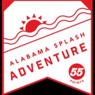 Splash Adventure badge