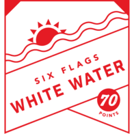 Six Flags White Water badge