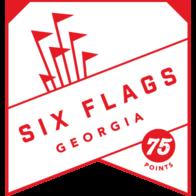 Six Flags Georgia badge
