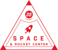 Space & Rocket Center badge