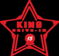 King Drive-In badge