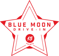 Blue Moon Drive-In badge