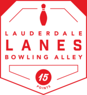 Lauderdale Lanes Bowling Alley badge