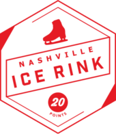 Nashville Ice Rink badge